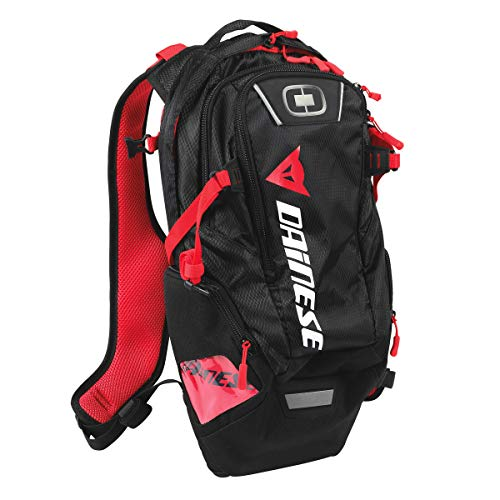 Dainese-D-DAKAR HYDRATION BACKPACK, Stealth-Negro, Talla N