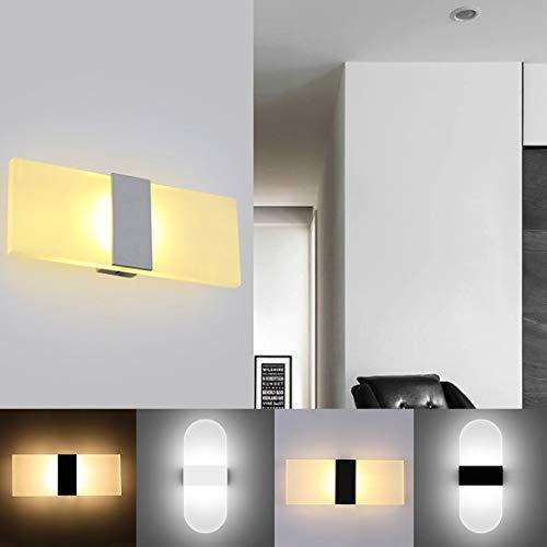 YOGINGO Lámpara de Pared LED para Interiores, candelabro Moderno para Pared, luz...