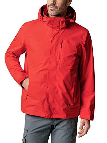 Klepper Herren Jacke Wetterschutz einfarbig Orange 52