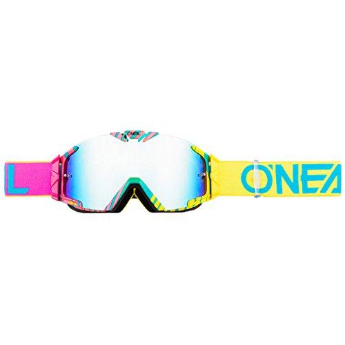 O'NEAL B30 Duplex Kinder Goggle MX DH Brille pink/blau/Radium Oneal