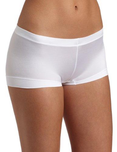 Maidenform Women's Dream Collection Boy Short Panty, White,5