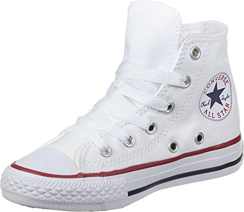 Converse Chucks Kinder 3J253C AS HI CAN White Weiss, Groesse:35 EU / 2.5 UK / 3 US / 23 cm