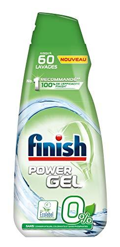 Finish Gel 0% Ecolabel Détergent pour Lave-Vaisselle - 900 ml