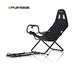 Easy to store due to its unique and patented collapsible design Powder-coated steel framework with Alcantara suede cover Supports 3rd party wheel and pedal sets from Fanatec, Logitech, Thrustmaster and MadCatz for all gaming consoles and PCs Compatib...