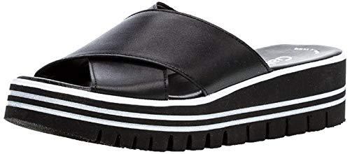 Gabor 23.620 Damen ClogsPantoletten,Clogs&Pantoletten, Frauen,Pantolette,Hausschuh,Pantoffel,Slipper,Slides,Best Fitting,schwarz,5 UK
