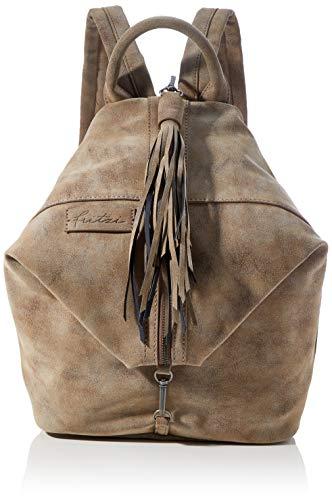 Fritzi aus Preussen Damen Fritzi Marit Backpack medium Rucksack, Old Wood, Einheitsgröße