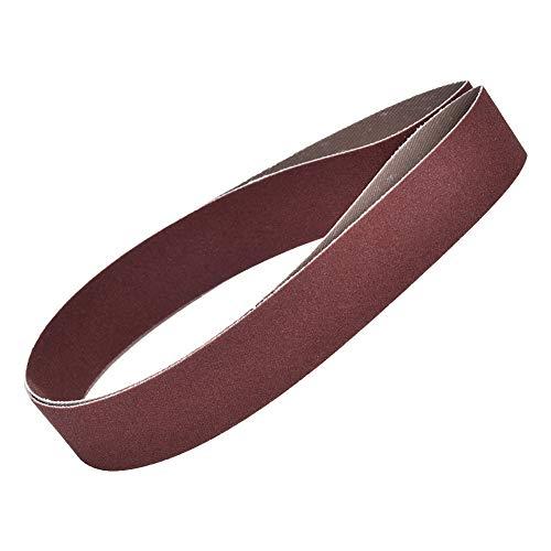 Homeriy 10 Stück Schleifband-Schleifband 760X25mm Polierwerkzeug für Nichtmetallisches Polieren von Holzmöbeln