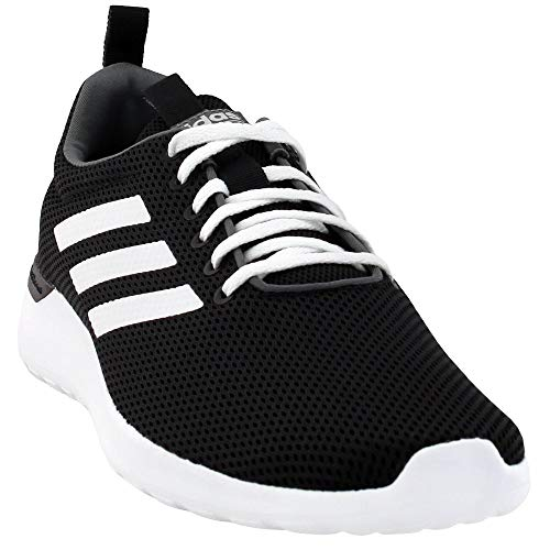adidas Men's Lite Racer CLN Running Shoe, Black/White/White, 10 M US