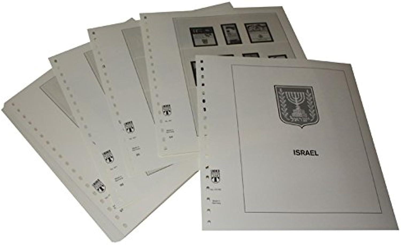 Lindner T Vordruckbltter T157 90 Israel mit Anhnger und Blocks- Jahrgang 1990 bis 1999