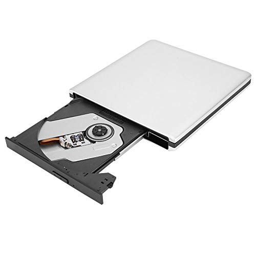 Diyeeni DVD CD Writer aluminiumlegering hoge snelheid blu-ray-brander met Blu-ray-weergave en branding, compatibel met desktop, notebook en all-in-one