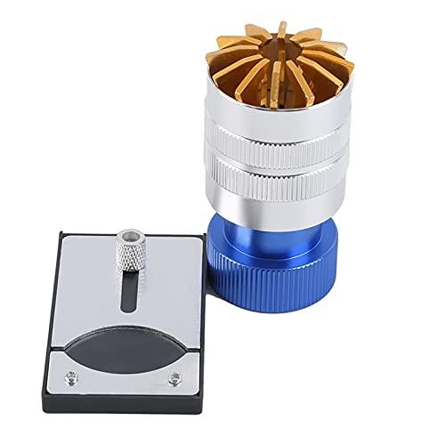 CHENGCHEN WMiao Store Retire la reparación de reemplazo Bottle APERTURAR Herramienta RANDER HERRAMENTA Reloj DE LA Herramienta Máquina de Pegamento Máquina de Reloj de Vidrio de Acero Vidrio