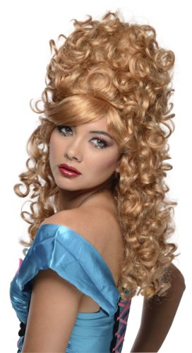 Rubie's womens Burlesque Wig Party Supplies, Multicolor, One Size US
