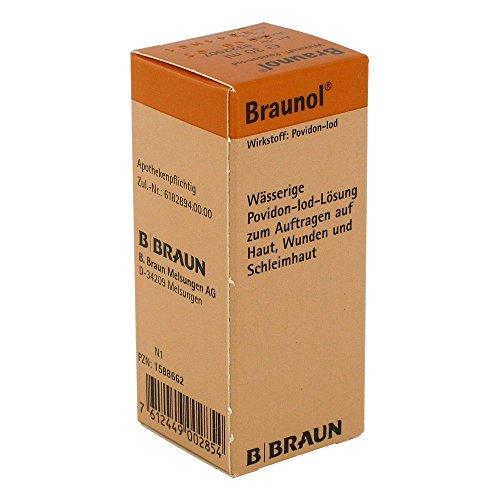 Braunol Haut- und Schleimhautantiseptik, 30 ml