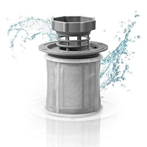 Sieb Mikrosieb Feinsieb Set Ersatz für 00427903 / 427903 Mikrofilter 3-teilig Filter für Bosch Geschirrspüler Siemens Spülmaschine Neff / Whirlpool / Philips