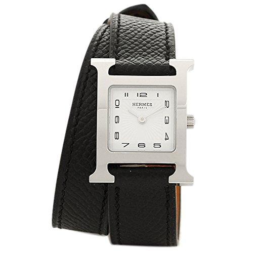 (エルメス) HERMES HERMES 時計 エルメス W036716WW00 HH1.210.131/UNO1 HウォッチPM 2重巻き レディース腕時計ウォッチ ブラック/シルバー/ホワイト [並行輸入品]