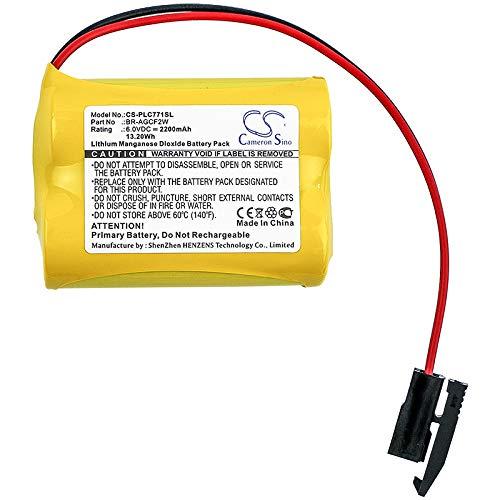 FCQLR Compatible for A02B-0200-K102 A02B-0200 Lithium Battery CR17450SE-R CR17450SE CR17450 3V Li-ion Battery Resistance Plug