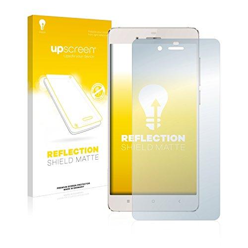 upscreen Entspiegelungs-Schutzfolie kompatibel mit Doogee Europa F3 – Anti-Reflex Bildschirmschutz-Folie Matt
