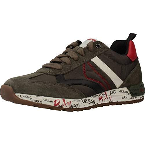Geox Sportschuhe für Junge J929EA 0FU22 J ALBEN C3288 Forest Schuhgröße 32
