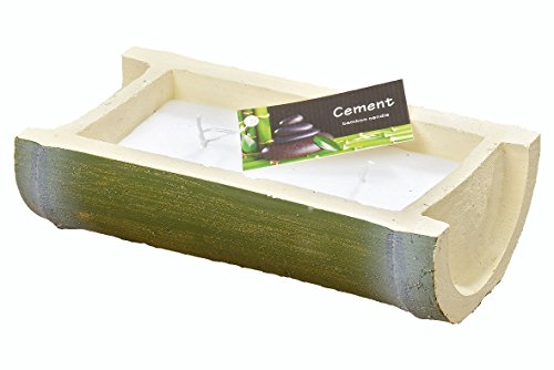 Candela pentola Bamboo Buddha Harmonie Design L23cm Cera riutilizzabili Durata 12–14H