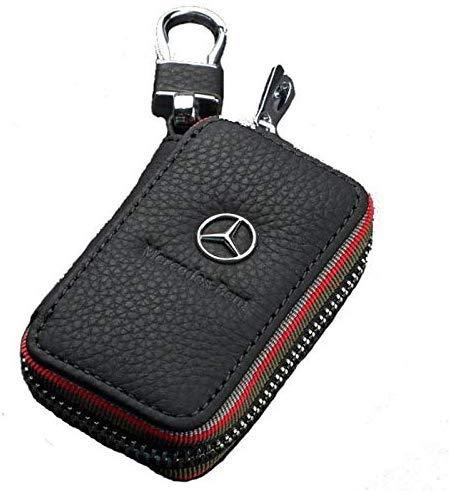 Schlüsselbund Leder Autoschlüssel Ring Box Schlüsselbund Schlüsseltasche für Mercedes Benz Geldbörse Taille Anhänger Schlüsseltasche
