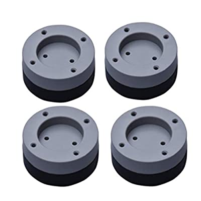 SUPVOX 4pcs Washing Machine Foot Pads Anti-Vibration Anti-Walk Pads for Washer and Dryer