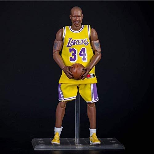 YUEDAI Figura de acción de 22 cm de la Serie NBA Lakers 34 O'Neal edición Limitada de colección: Figuras de la NBA