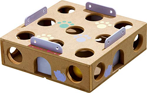 Karlie Smart Cat Activity Box, 6,5 x 22,5 x 22,5 cm