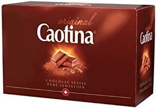 Caotina Original Switzerland, 100 Packages with Each 15 Grams, Total 1.5 Kilograms, Chocolate Suisse Pure Sensation