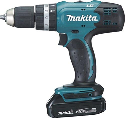 Makita DHP453RYLJ schwarz, blau–Bohrmaschine Bohrmaschine-Pistole, perforacion, desatornillar, schwarz, blau, 3,6cm, 1,3cm, 42Nm)