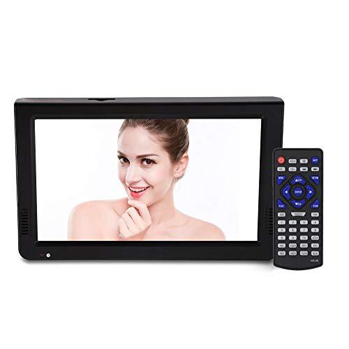 Televisión Digital, 10 Pulgadas TV HD portátil con TDT, Soporte USB/TF Card/PVR/AVI,...