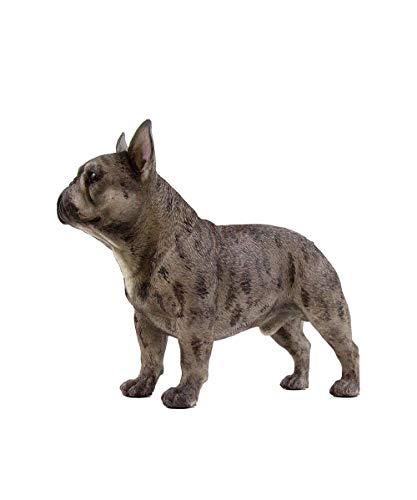 Petorama 100% Handmade Hand Painted Collectible Grade Premium Figurine Gift Lifelike Realistic French Bulldog Statue 1:4 (2)