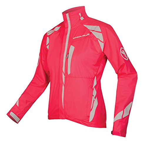 Endura Wms Luminite Ii Jacket, Pink, Größe UK-8