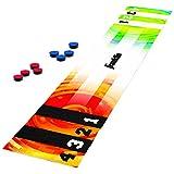Franklin Sports Shuffleboard Table Game Mats – Tabletop Shuffleboard Mats and Pushers – Indoor Shuffleboard and Curling Games - Classic Shuffleboard