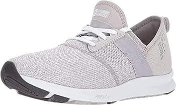 New Balance Women s FuelCore Nergize V1 Sneaker Overcast/White/Heather 8.5