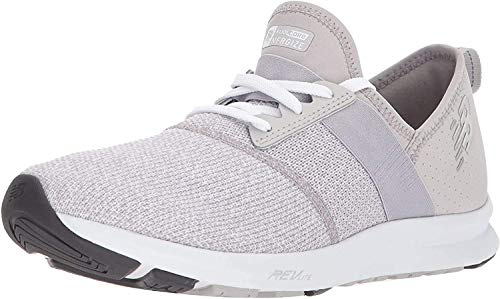 New Balance Women's FuelCore Nergize V1 Sneaker, Overcast/White/Heather, 8 W US