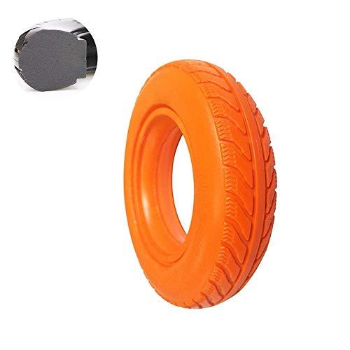Neumático de Scooter eléctrico 8X1.75 Neumático sólido a Prueba de explosiones Neumático de Poliuretano Antideslizante y Resistente al Desgaste 4 Colores Opcional, Seguro y cómodo