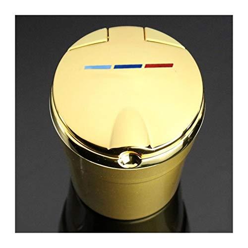 Accesorios para automóviles Cenicero de cenicero con luz LED Luz de lujo...
