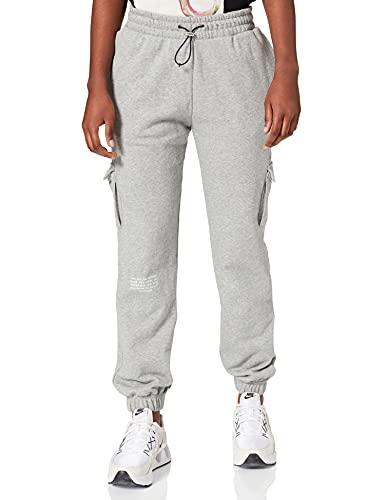 Nike CZ8905-063 W NSW SWSH Pant FT MR Pants Womens dk Grey Heather/(White) S