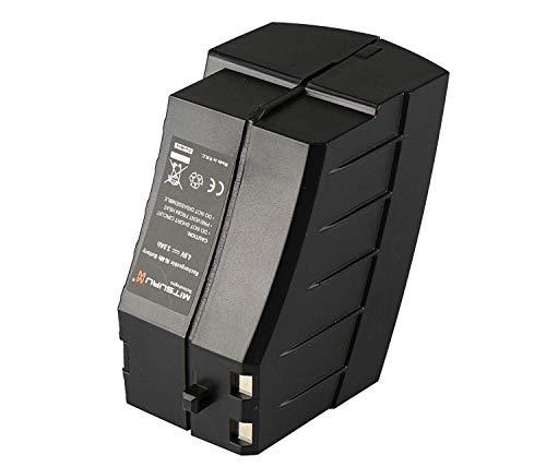 Mitsuru® 3000mAh Ni-MH 4,8V batterij voor accubezem Kärcher K55 / K55 Pet Plus / K55 Pet / K65 Plus vervangt 1.258-509.0 / 2.810-001.0