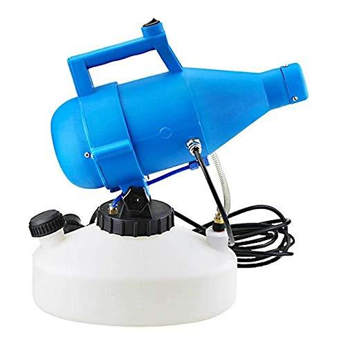 Kacsoo Pulverizador ULV portátil 220V 4.5L Máquina nebulizadora eléctrica, máquina de desinfección Pulverizadores industriales Nebulizador de jardín Interior/Exterior