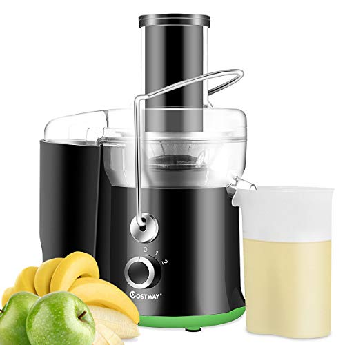 Juicer Wide Mouth Fruit & Vegetable Centrifugal Juice Extractor Machine 2 Speed 400 W stainless-steel juicer High-speed Motor with Overheat Protection 15 x 8 x 15.5- inch (L x W x H)
