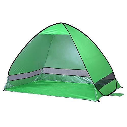Al aire libre automático instantánea pop-up portátil tienda de playa anti UV refugio camping pesca senderismo picnic verde