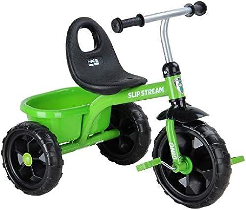 Kinder Dreirad mit Eimer Baby Fahrrad Super Large Front Wheel Licht und einfach