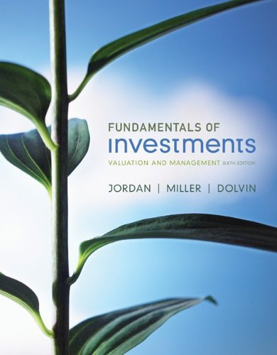 Fundamentals of Investments with Stock-Trak Card (The Mcgraw-Hill/Irwin Series in Finance, Insurance and Real Estate)