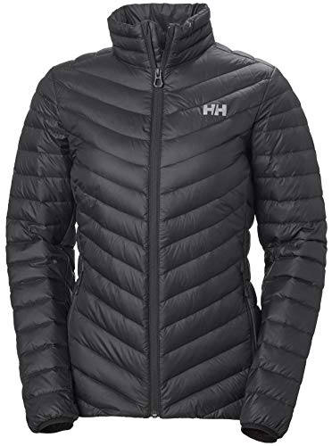 Helly Hansen W Verglas Down Insulator Jacket Chaqueta Con Doble Capa, Mujer, Black, XL