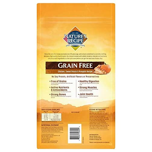 Nature's Recipe Grain Free Easy to Digest Dry Dog Food 4