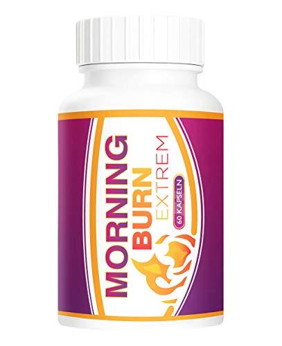 Adema Nutrition by Adema Natural MORNING BURN original Kapseln Extrem für Männer und Frauen – KETO hochdosiert & vegan – ENERGIE – SCHNELL & STARK