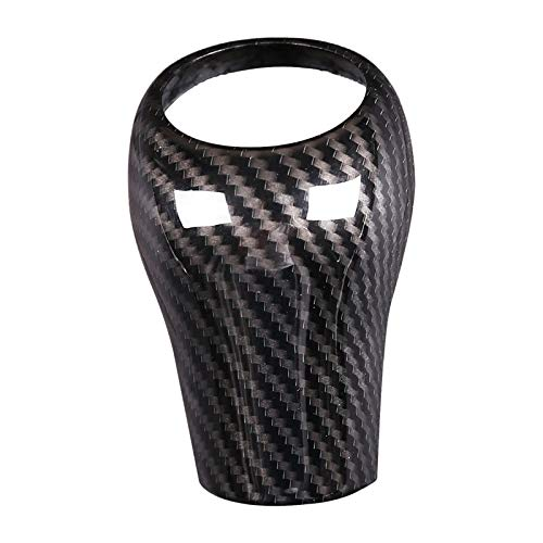 Bolsa de Botas de esquí Cubierta de la Perilla de Cambio de Engranaje de Fibra de Carbono para Mercedes-Benz W204 W212 a c e g gls Clase