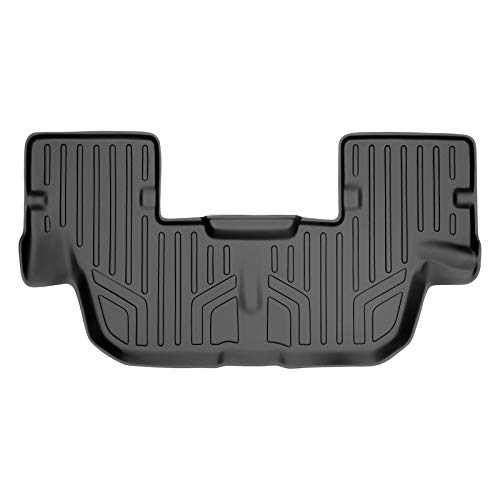 MAXLINER All Weather Custom Fit 3rd Row Black Floor Mat Liner Set Compatible...