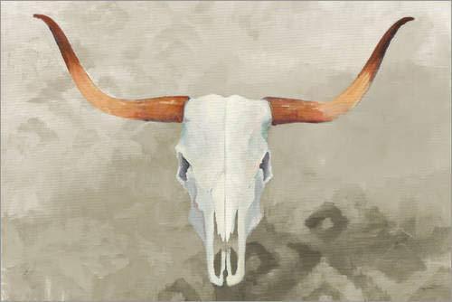 Poster 60 x 40 cm: Echoes Taupe de Avery Tillmon/Wild Apple Graphics - Reproduction Haut de Gamme, Nouveau Poster
